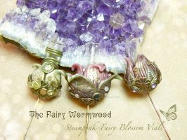 Steampunk-FairyBlossomVials by EnchantedTokenArt