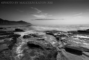 Coalcliff in Black and White by FireflyPhotosAust