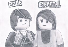 Cole and Crystal by HarmonyPond