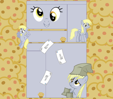 Derpy Hooves YouTube Layout. by Liamb135