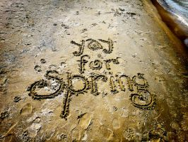 Yay for spring by spudart