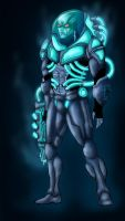 Mr Freeze in colour Batman Re-Image Wave 2 by dushans