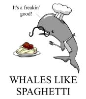Whales like Spaghetti by rijuhn