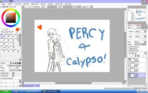 percy and calypso by pjatosuperfanfiction