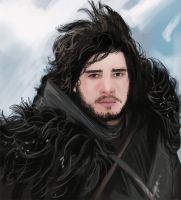 Kit Harington -Jon Snow - Study by fifoux