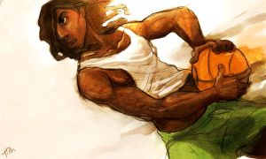 Basketball player by Luthie13