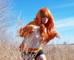 Charmander / Hitokage Gijinka 03 by HeatherCosplay