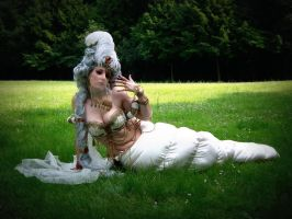 Caterpillar_ bucolic poetry by CalipsoCosplay