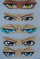 Eyes [Bleach] by Hylian-Sky