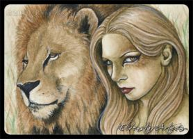 ACEO -- Regal by ElvenstarArt