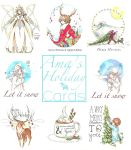 Holiday Cards by Ama-Natto