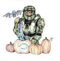 --HALO-- Happy HALOween by Kamino185
