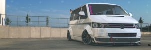 Volkswagen T5 Facelift with Liberty Walk by BuseHase