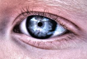 ethans eye HDR by Lady-Twiglet