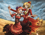 Love of Autumn and Stage 1 by iKiska