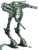 Stalker warmech by wiledog