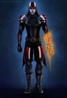 AC-ME, N7 Assassin by agata-j