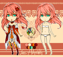Lace Adoptable - SOLD by Azraetine