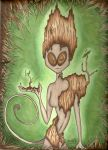 Wood Sprite by LadyAriaa