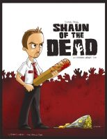 Shaun of the Dead by artstroke