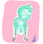 Phantom Morty by Snailythefan