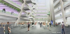Urban Farm: Atrium by jonorobo