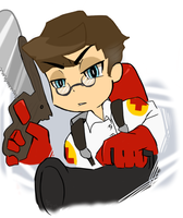 MEDIC PSG style by LemonOrchid