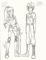Erza and Jellal Demigods by Maygirl96
