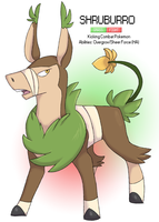 Pokemon Albion Region: #003 Shruburro by sweetkimothy