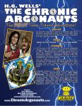 H.G. Wells' The Chronic Argonauts one-sheet by emullarky