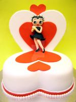 Betty Boop Cake by ginas-cakes