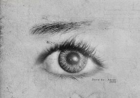 eye drawin by Barary