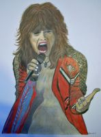 Steven Tyler Colour by donna-j