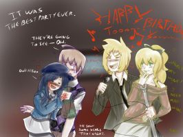 Hanako's birthday party by SandraMJ