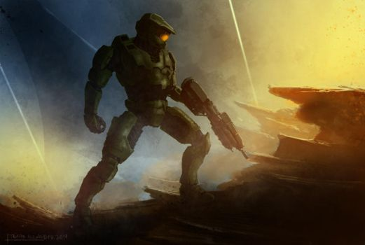 Master Chief by PredatoryApe