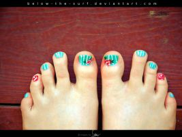 Rose Toes by below-the-surf