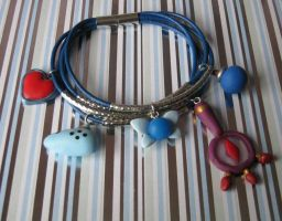 new zelda bracelet by Vocalist-RedSpade