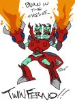 Transformers: Infernal Whatshisname by BlueIke