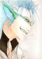 Grimmjow /Resurreccion Form/ by vaccatrea