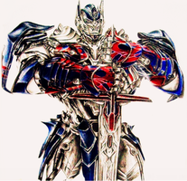 optimus prime by devilwithin91