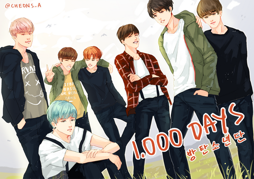 1000 Days With BTS by Aureta