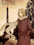 APH-  Sous Le Ciel De Paris by Flashie666