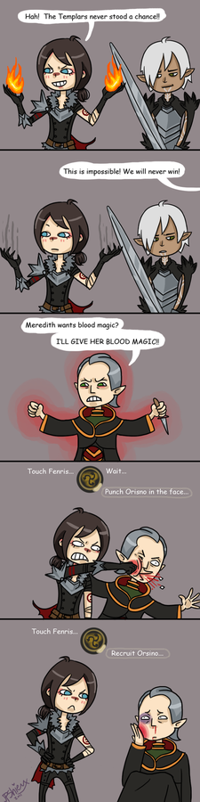 Hawke's New Recruiting Method by JPShieux