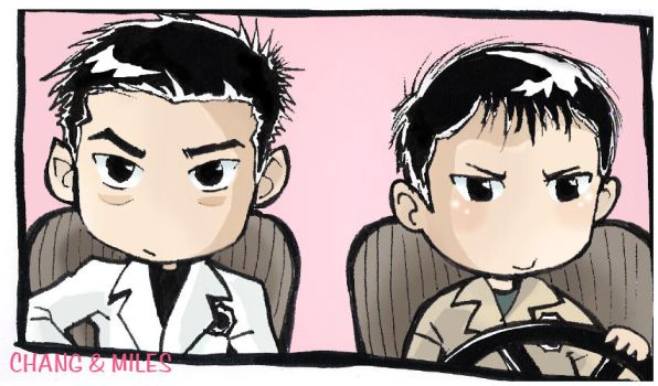 Chibi Chang and Miles by IreIreIre