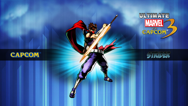 Ultimate MvC3 Strider by CrossDominatriX5