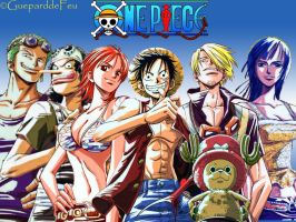 Wallpaper One Piece by GueparddeFeu