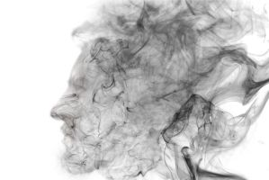Smoking Face by Partists