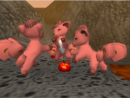 Pokemon Snap Vulpix by SusanLucarioFan16