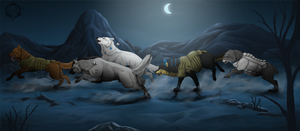5 soldiers by Dalkur