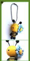 Buzzie Bee by HanaClayWorks